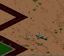 Desert Strike - Return to the Gulf - Battle  - Air to Air Combat - User Screenshot